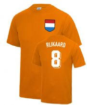 Frank Rijkaard Holland Fancy Dress Football T Shirt
